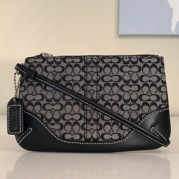 Coach Mini Signature Wristlet